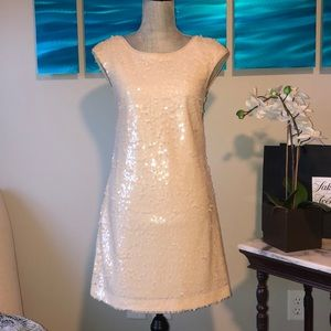 Suzi Chin Sequined Cocktail Dress